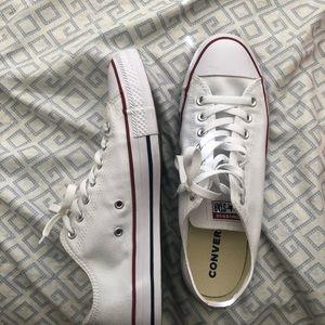 Brand new white converse!